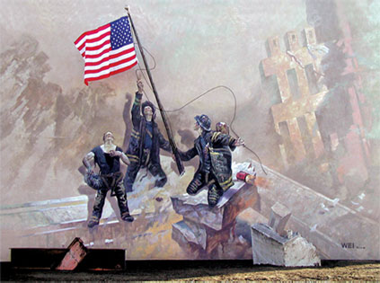 Murals muurschilderingen in amerika forum for 9 11 mural van